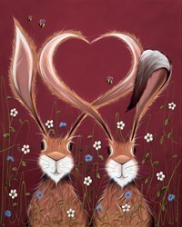 Share the Love by Jennifer Hogwood - Hand Finished Limited Edition on Canvas sized 16x20 inches. Available from Whitewall Galleries